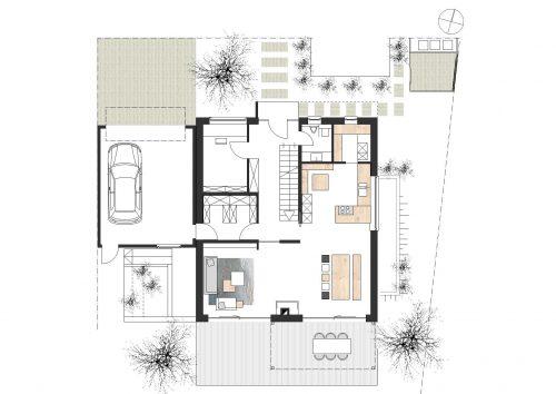 Einfamilienhaus Architekt Plan